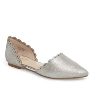 Seychelles Research Pointy Toe d'Orsay Flat 9